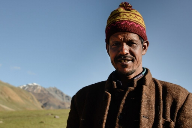 Herdsman, Indian Himalayas, Spiti Valley