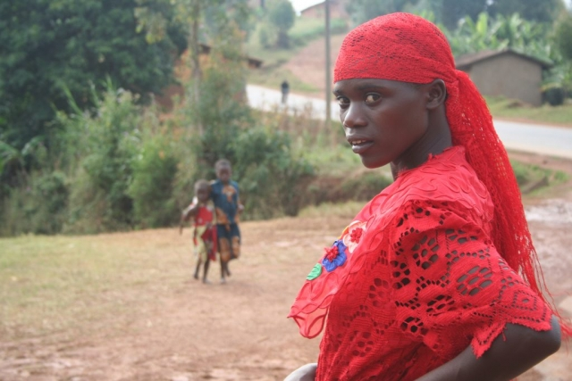 Young woman in Burundi.