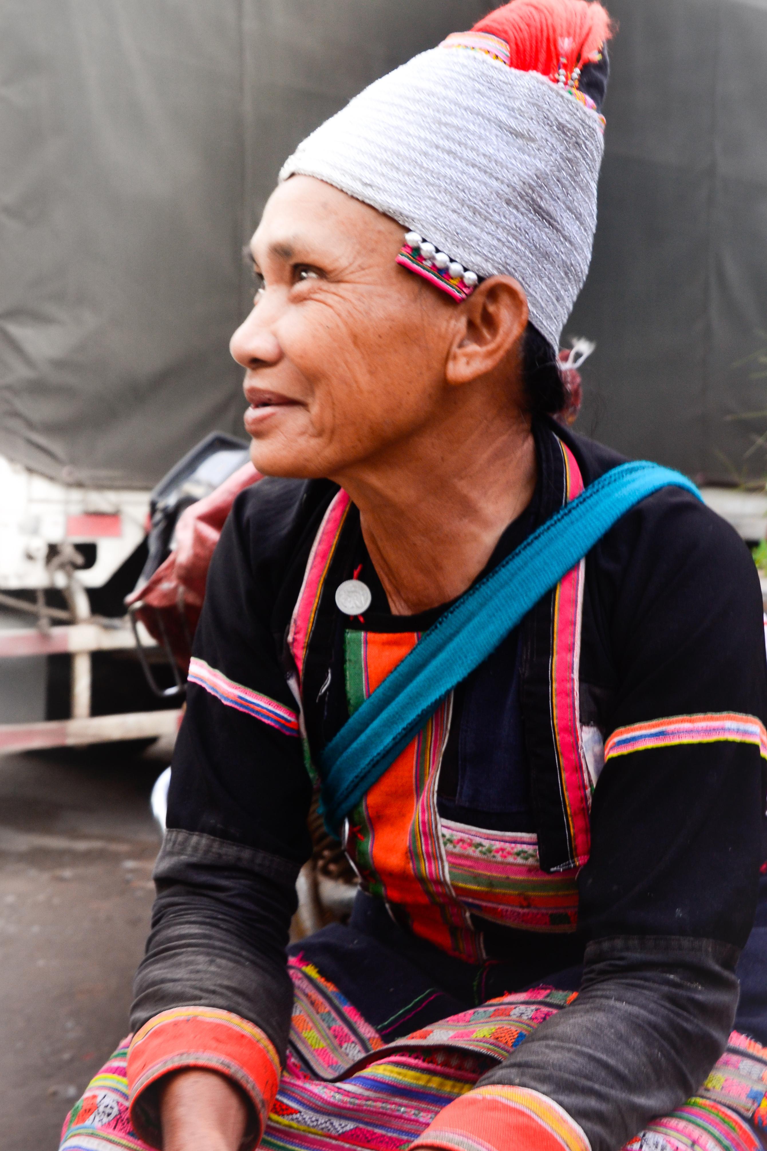 Local woman in Yunnan, China.