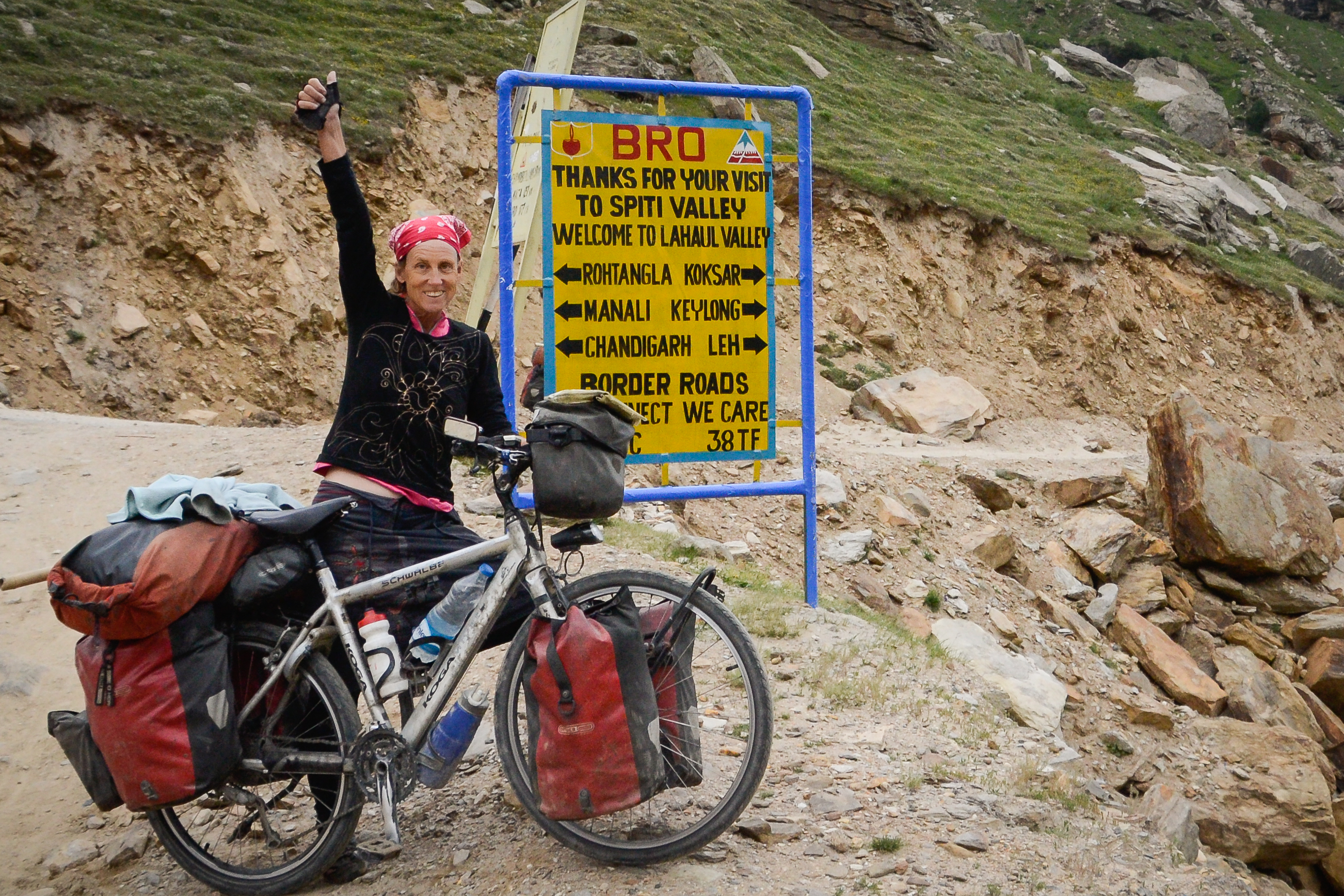 Crossing of Spiti Valley and Leh-Manali Road