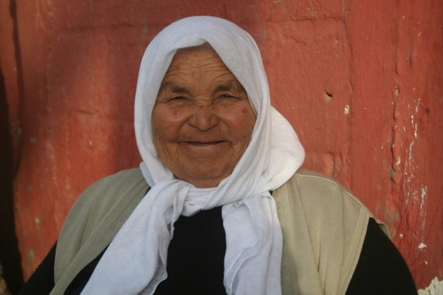 Woman in Turkey.