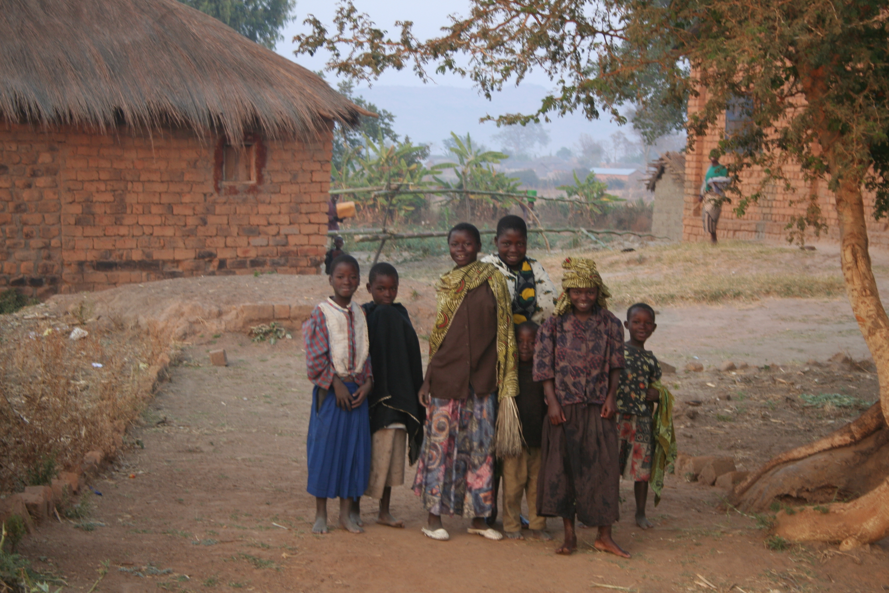 Villagers in Tanzania.